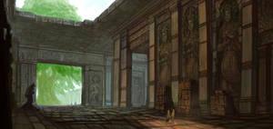 Shangri-La 2 Yggdrasil Hall by ArtDoge