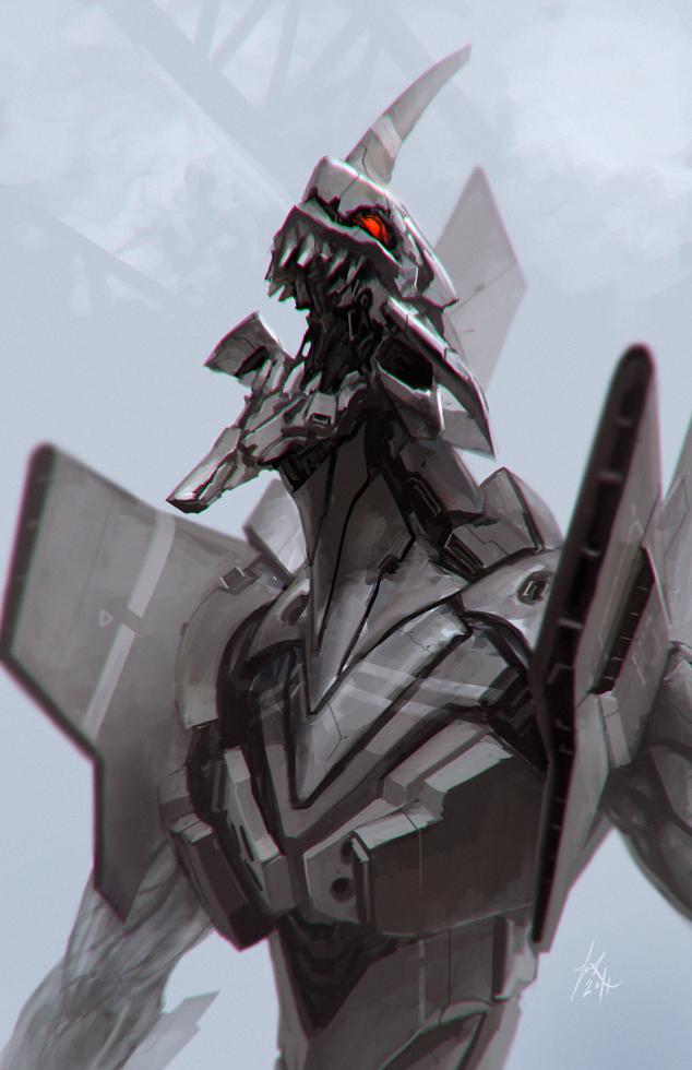 EVA 01 by ArtDoge