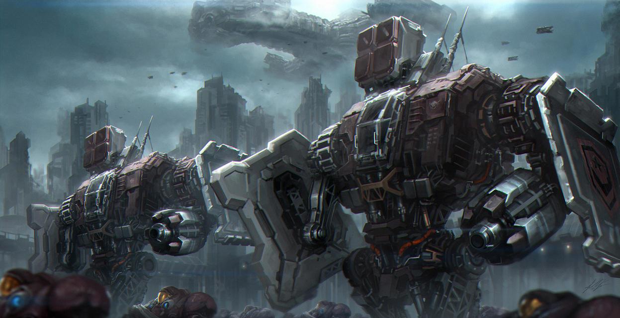 Aria Of War by ArtDoge
