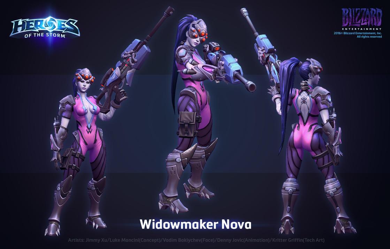 HOTS Widowmaker Nova by ArtDoge