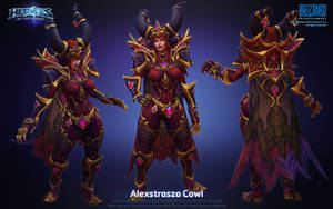 Alexstrasza Dragon Aspect by ArtDoge