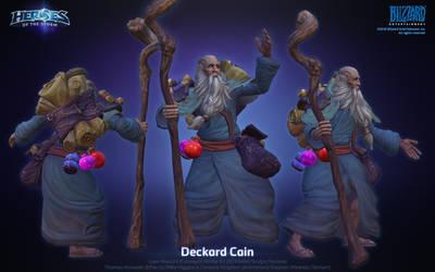 Deckard Cain - HotS by ArtDoge