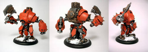 Warmachine- Juggernaut by z95pilot