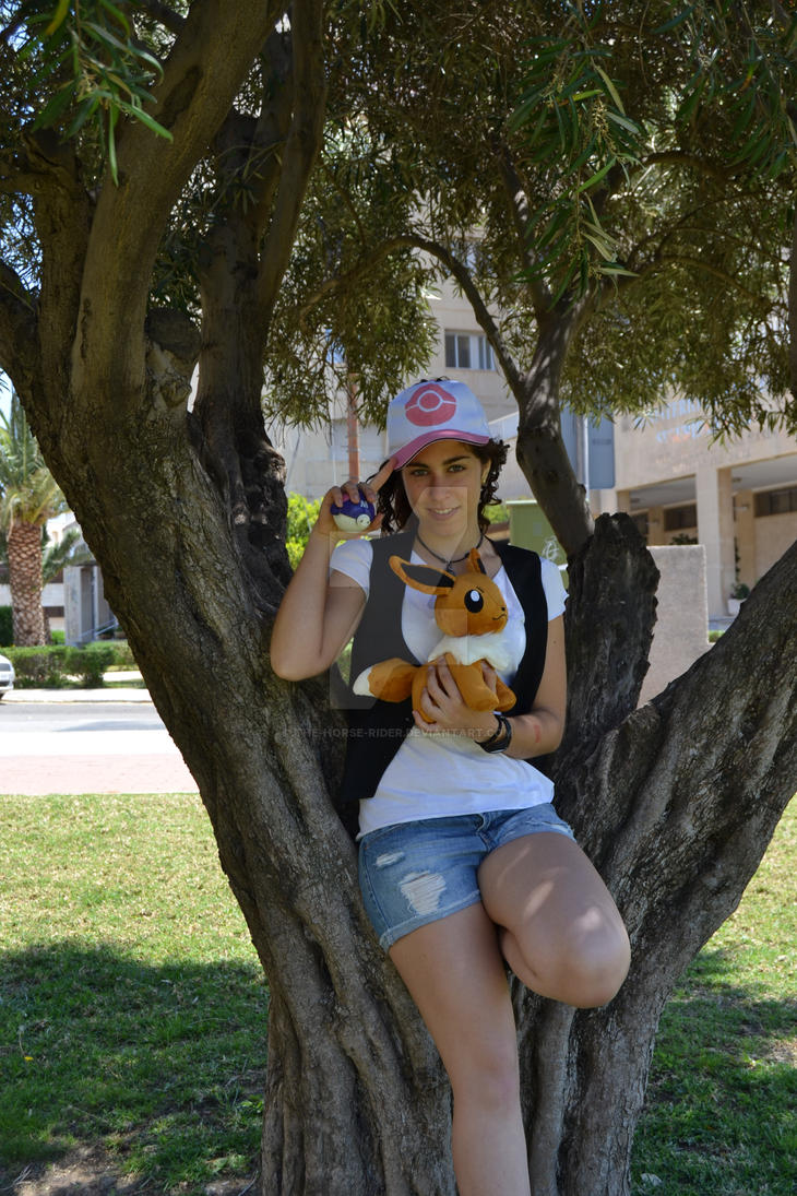 pokemon trainer black and white cosplay by thehorserider