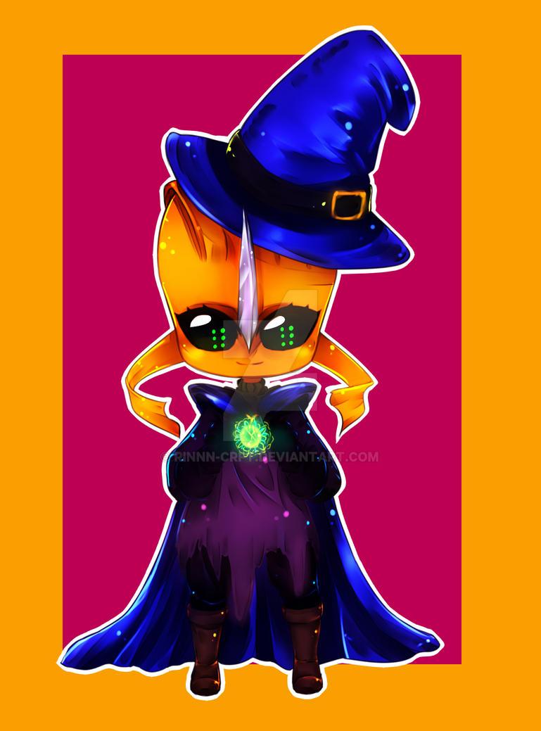 YCH Halloween 1A [4/4] by Rinnn-Crft