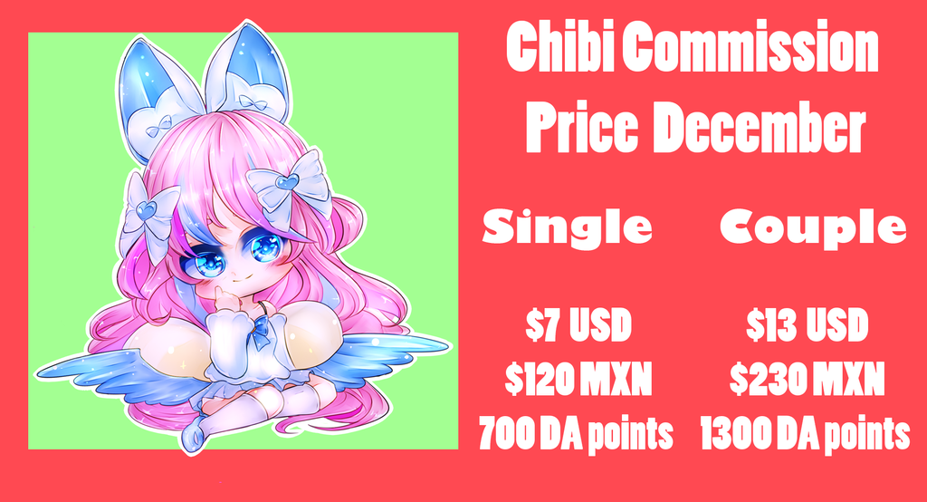 December Commission prices OPEN by Rinnn-Crft