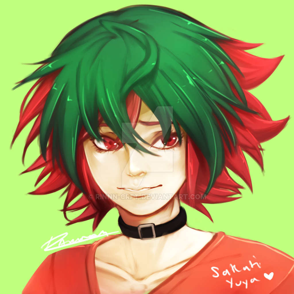 Sakaki Yuya [Fan Art] by Rinnn-Crft