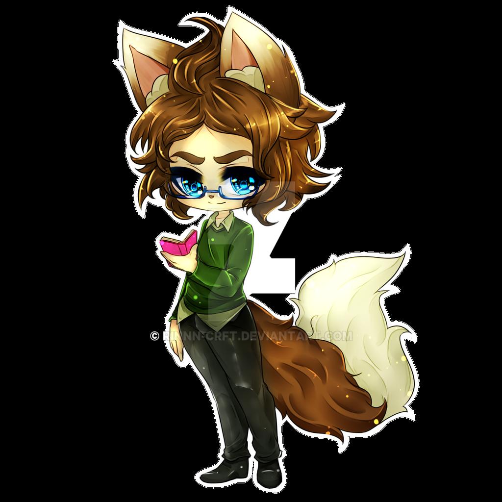 Fox boy Commission by Rinnn-Crft