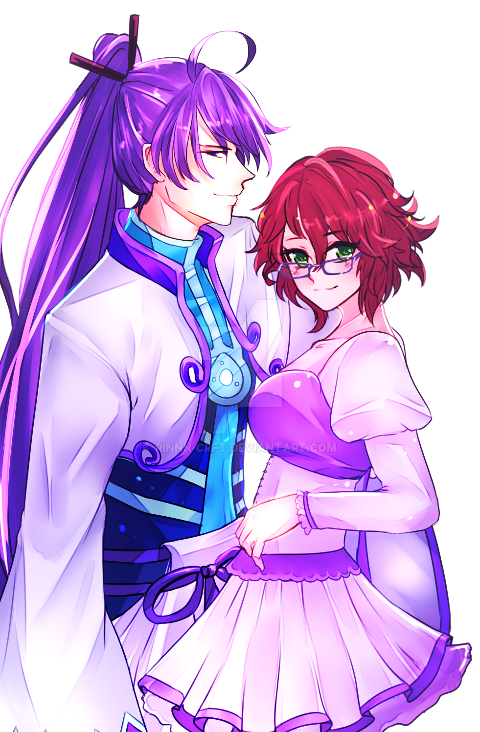 Commission couple [2/2] by Rinnn-Crft