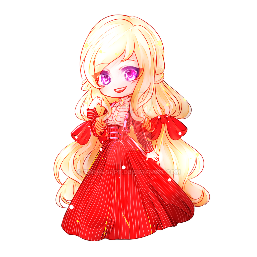 Chibi Sketch Commission by Rinnn-Crft
