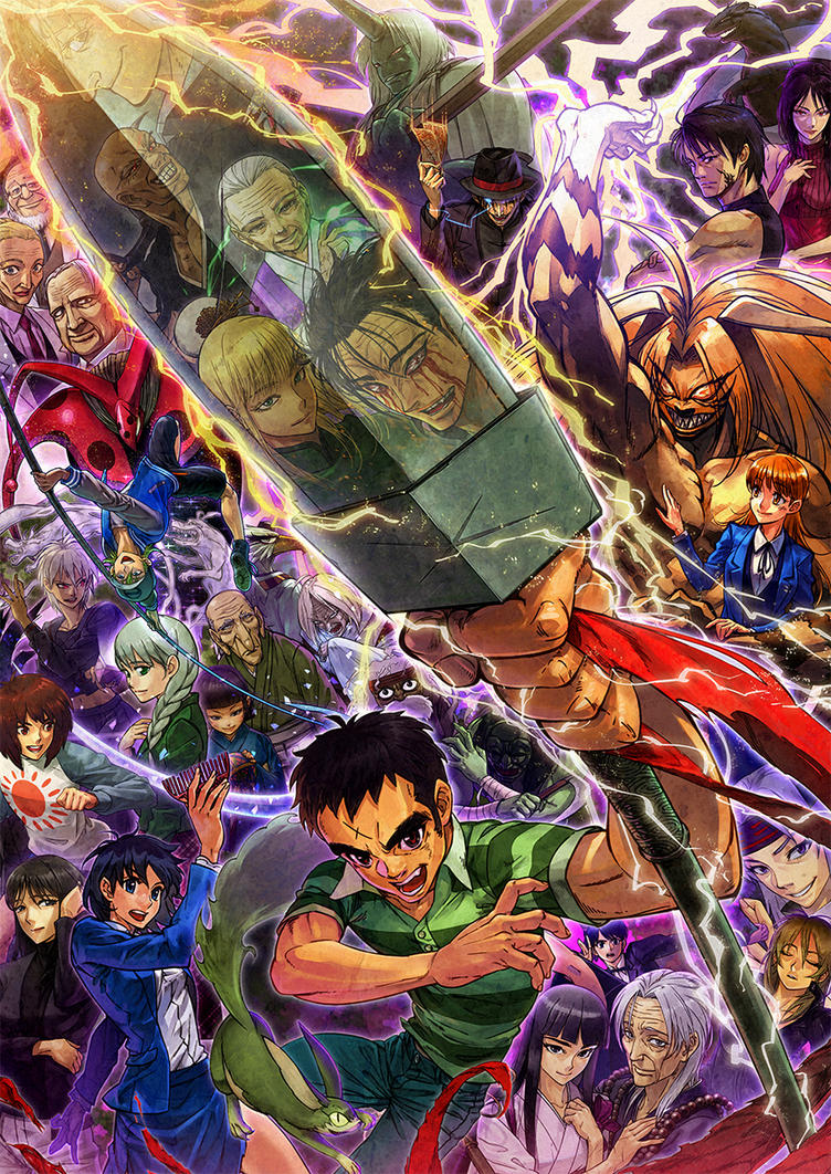 Ushio and Tora and more by oro-p