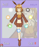 Pokemon Gijinka No.133 Eevee