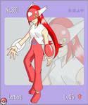 Pokemon Gijinka No.380 Latias