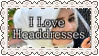 Headdress Positivity Stamp by GlitterMeOff