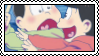 Osomatsu and Choromatsu Being Gay Stamp by dopesic