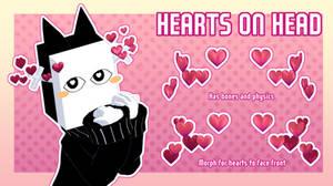[MMD] Hearts on Head