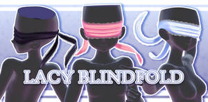 [MMD] Lacy Blindfold + Download