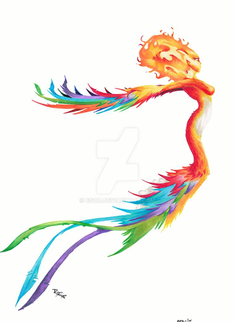 Lady Phoenix by EGoD