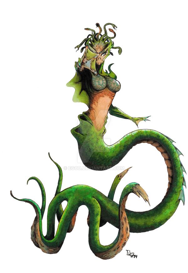 Ocean Goddess by EGoD