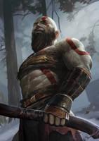 Kratos by SARIYAa