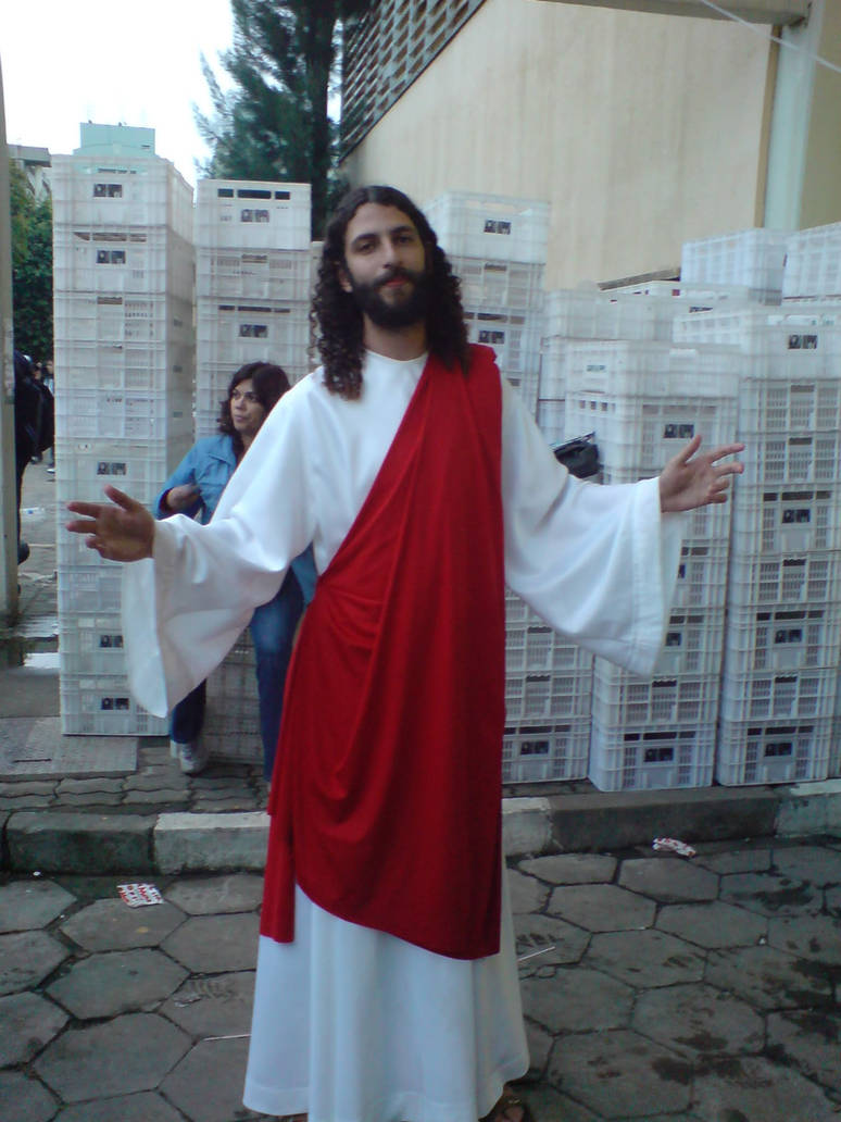 Jesus Cosplay - Anime Friends by Raphamaster on DeviantArt
