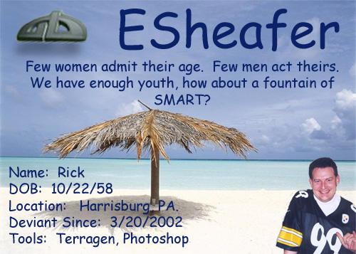 esheafer's Profile Picture