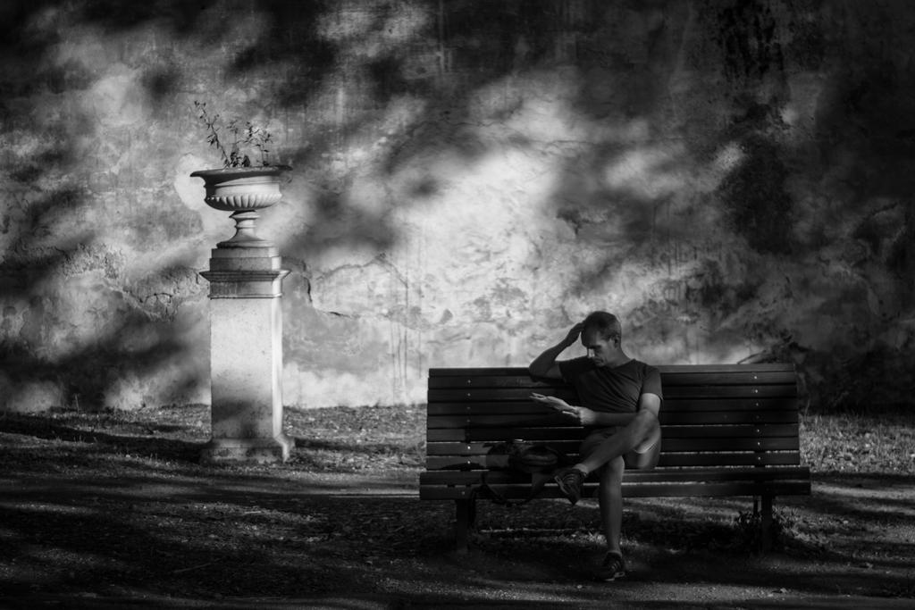 A game of shadows by SirShadowMan