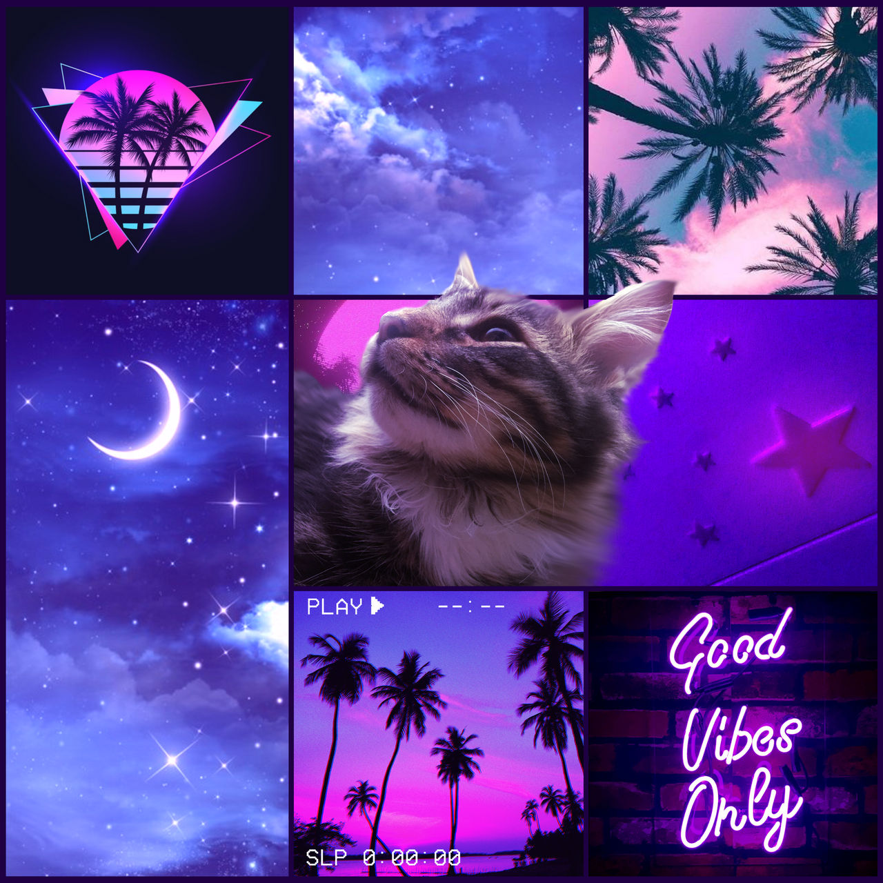 One of those aesthetic moodboards