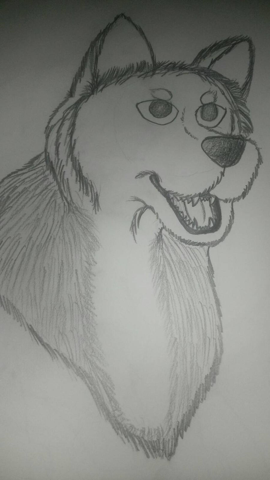 Happy Wolfi by SUPERWOLF10