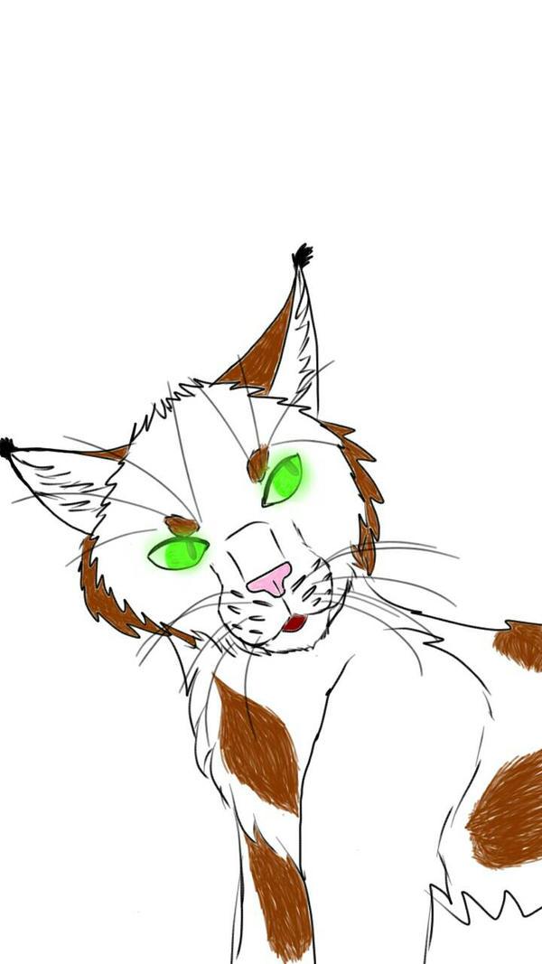 Neon Eyed Cat by SUPERWOLF10