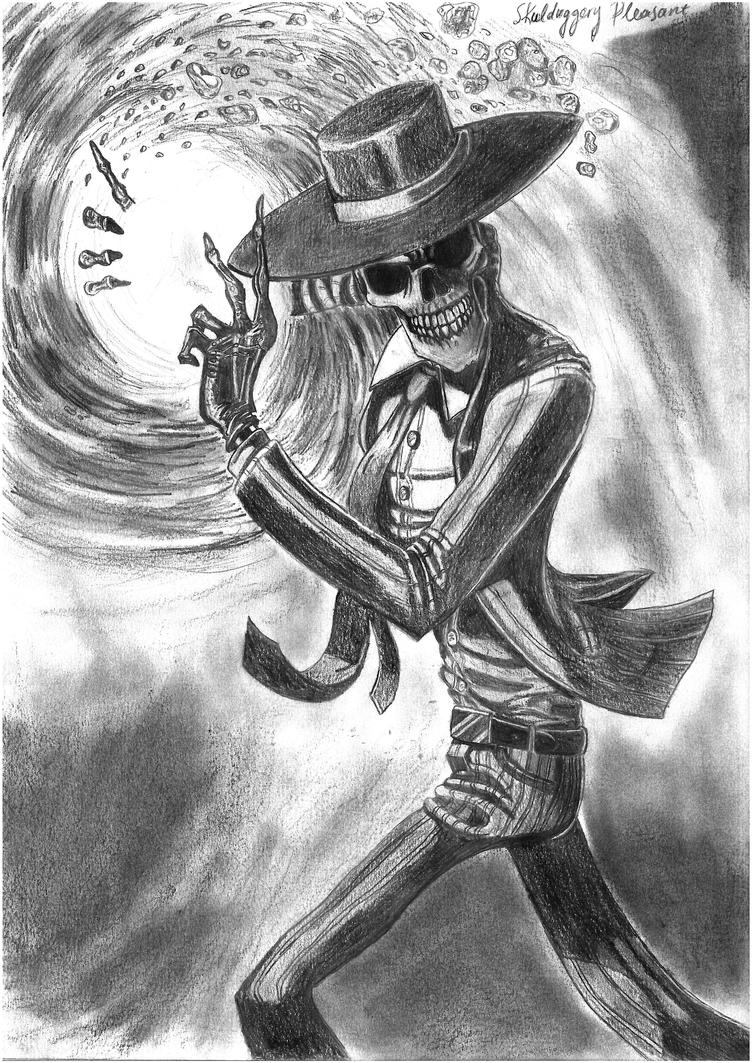 Skulduggery Pleasant(scanned version) by AsiMakri