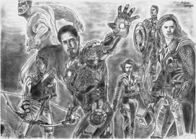 Avengers!! by AsiMakri