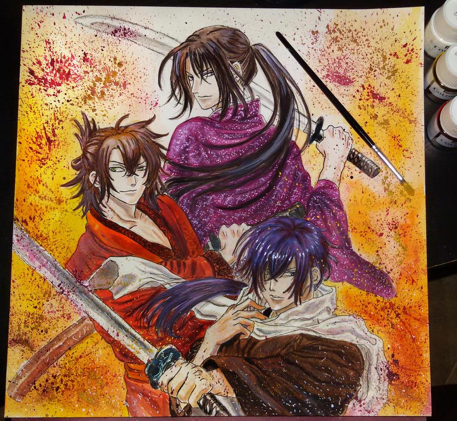 Hakuouki Shinsengumi kitan by AsiMakri