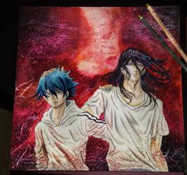 Akashi And Ushimitsu by AsiMakri