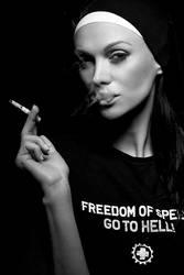 Freedom of speech by hellwoman