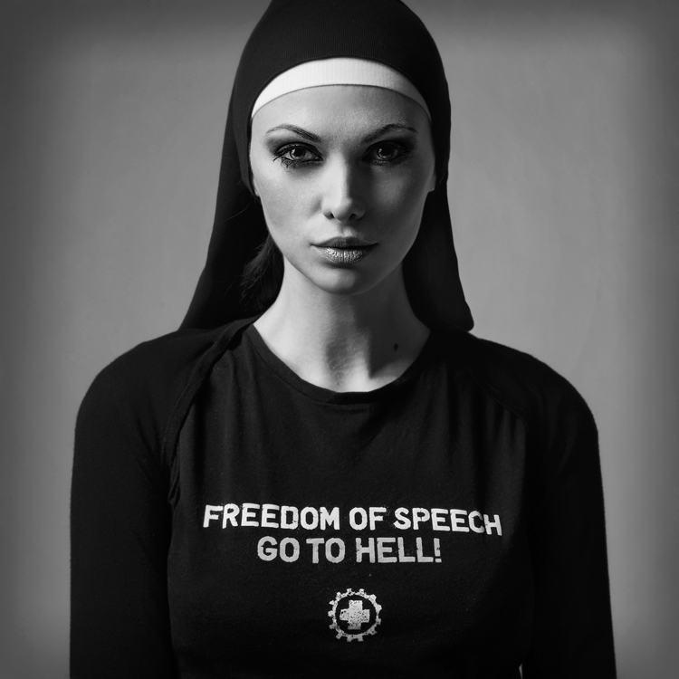 Freedom of speech_02 by hellwoman