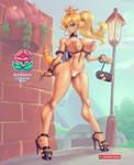 Bimbo Bowsette (tanlines) by supersatanson