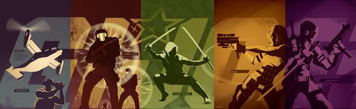 GI Joe cover series by trevhutch
