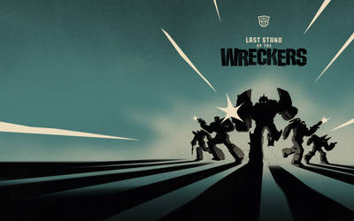 Transformers: Wreckers Hardcover by trevhutch