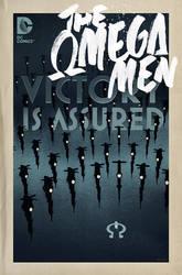The Omega Men #2 cover by trevhutch