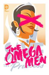 The Omega Men #3 cover by trevhutch