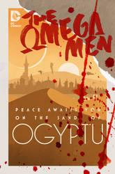 The Omega Men #4 cover by trevhutch