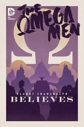Omega Men #5 Cover by trevhutch