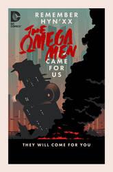 The Omega Men #7 cover by trevhutch
