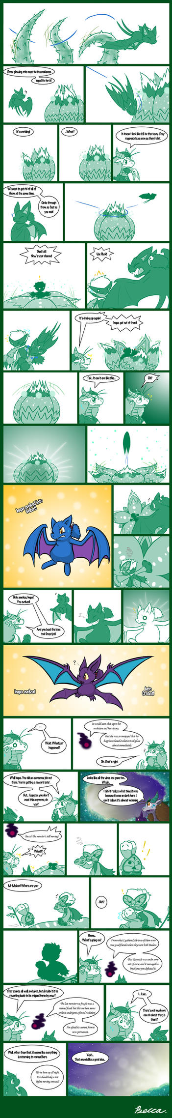 Legend of Nuzlocke 19 by Snowbound-Becca