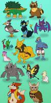 ZeldaLocke - Pokemon Redesigns 2018