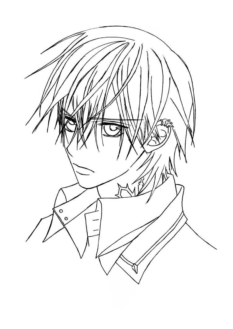 vampire knight zero coloring pages - photo#2