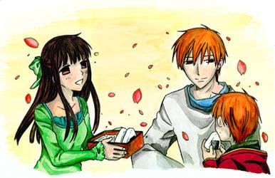Tohru, Kyo and ... son by Menanie605