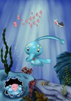Manaphy - Pokemon by Menanie605