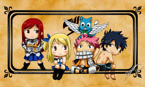 Fairy Tail - Chibies